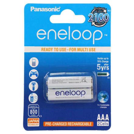 half pen battery Panasonic Eneloop BK-4MCCE High Copy luxiha