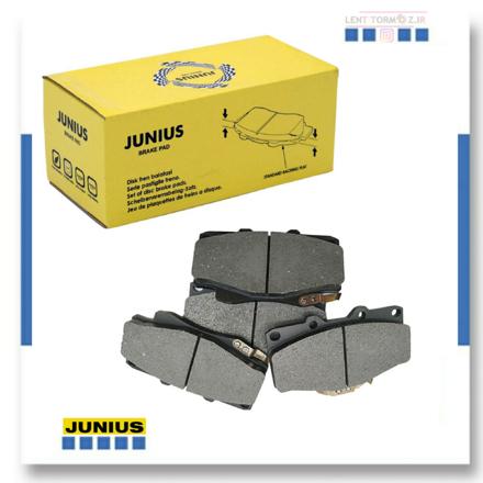 MVM 110 front wheel brake pads, Junius brand