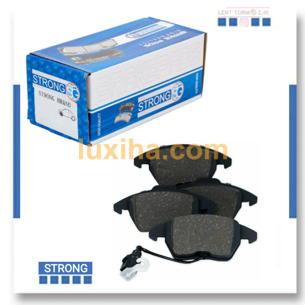 Strong front wheel brake pads MVM 110 brand