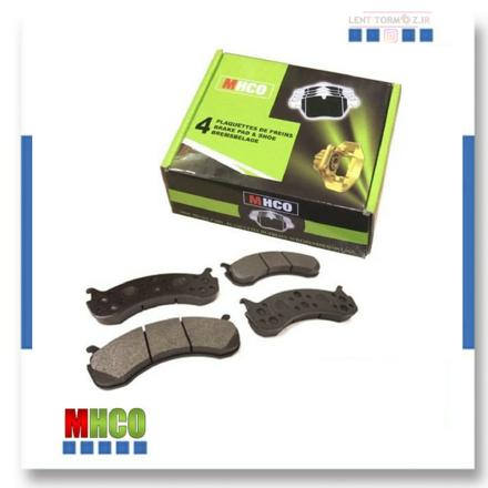 Front wheel brake pads MVM 315 brand MHCO
