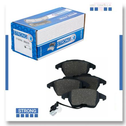 Daewoo Matiz  front wheel brake pads brand Strong