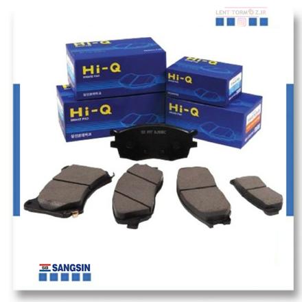 Peugeot 206 RC front wheel brake pads of  brands (HI-Q)
