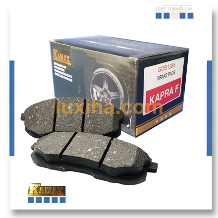 Naturally breathable MX 360 front wheel brake pads from Kamax brand