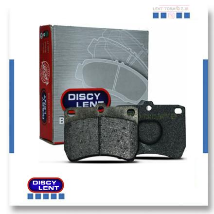 Peugeot 206 Type 5 front wheel brake pads, model 93 and above, DISCY LENT brand