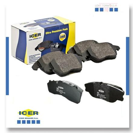 Picture of Lexus ES 350 rear wheel brake pads