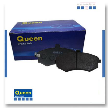 Rear wheel brake pads Jac J5 queen brand