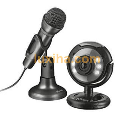 Picture for category Webcam and microphone