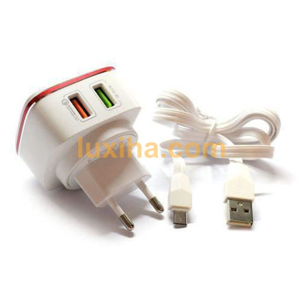 LDNIO A2405Q 2Port 2.4A Fastcharger luxiha