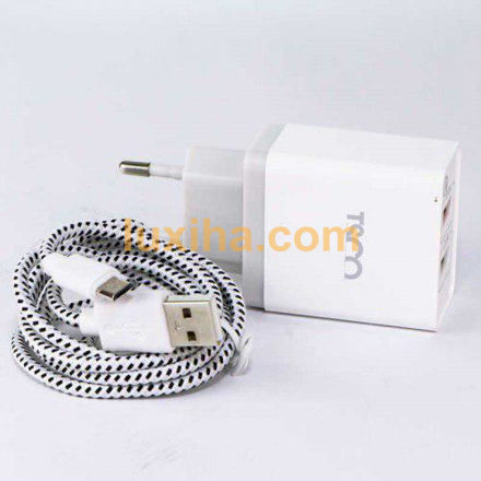 charger + MicroUSB Cable TSCO TTC 38 Dual USB travel luxiha