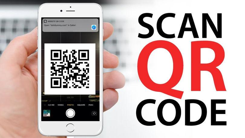 آموزش اسکن کردن  QR Code در آیفون