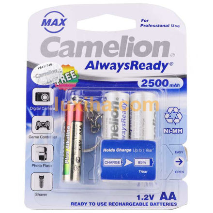 Camelion Always Ready Max 2500mAh Battery AA luxiha