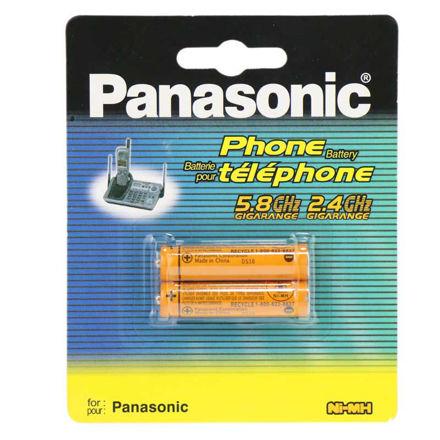 باتری نیم قلمی شارژی Panasonic HHR-3MRT/2BM High Copy