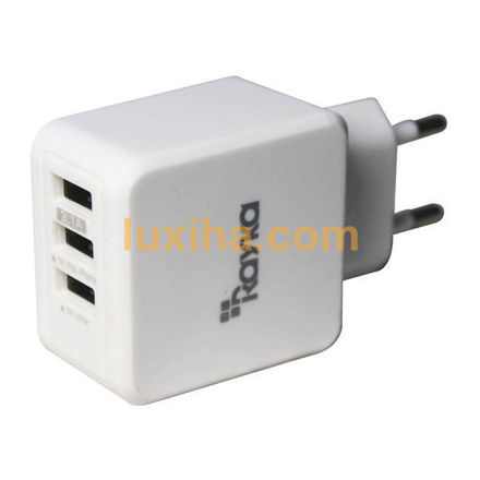 3USB charger rayka 3.1A out put luxiha