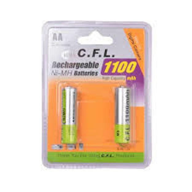 باطری شارژی  قلمی مدل 1100 mah
