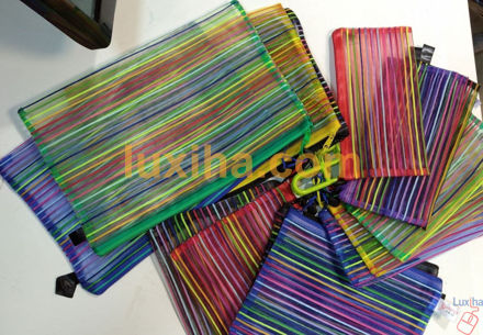 Large size lace bag (purple, green, yellow, blue, red, black)