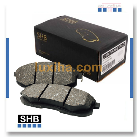 Picture of Front wheel brake pads with baic senova