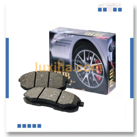 Peugeot 206 Type 5 front wheel brake pads, model 93 and above, B.H.B brand