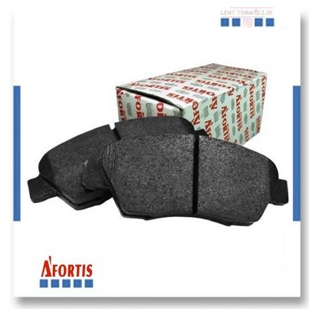 Samand Soren rear wheel brake pads type B disc of Afortis brand