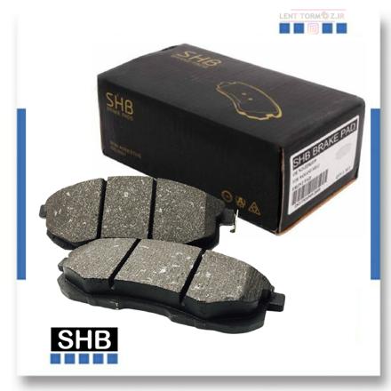 Samand Soren Disk rear wheel brake pads S.H.B brand