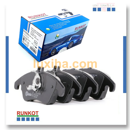 Picture of Hyundai Sonata NF 4 and 6 cylinder rear wheel brake pads, model 2006 to 2009