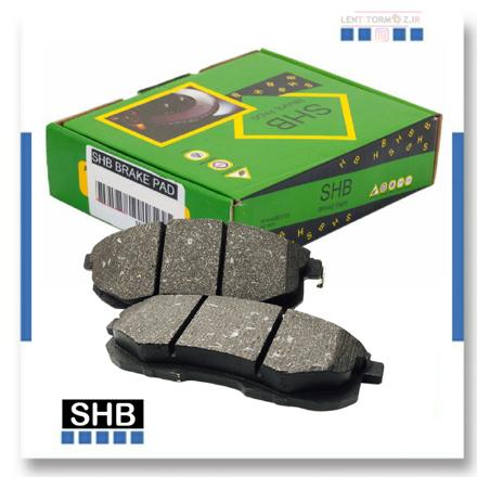 Kia Sportage rear wheel brake pads, model 2007 to 2010, SHB brand