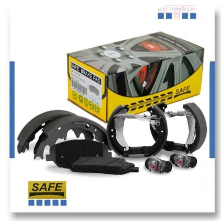 Kia Sportage rear wheel brake pads, model 2007 to 2010, SAFE brand