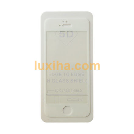 گلس فول ایفون 5 سفید (لوکسیها-LUXIHA)