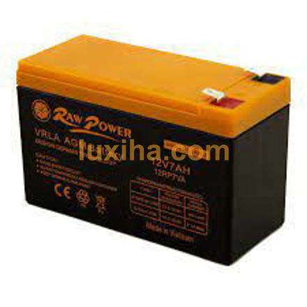 باتری یوپی اس راو پاور ۱۲ ولت ۷ آمپر(لوکسیها-luxiha )